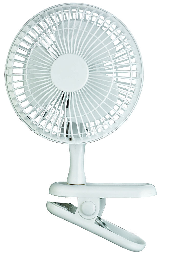 Clip On Desk Fan - 6 inch
