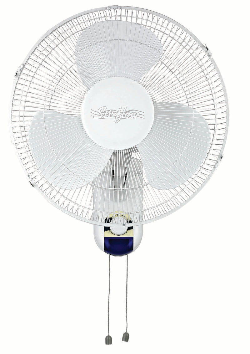 16 Inch Wall Fan With Pull Cords
