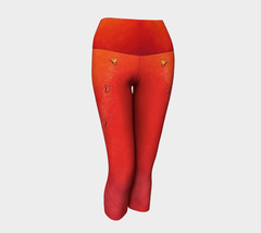 Lovescapes Yoga Capris (Solarium 03)