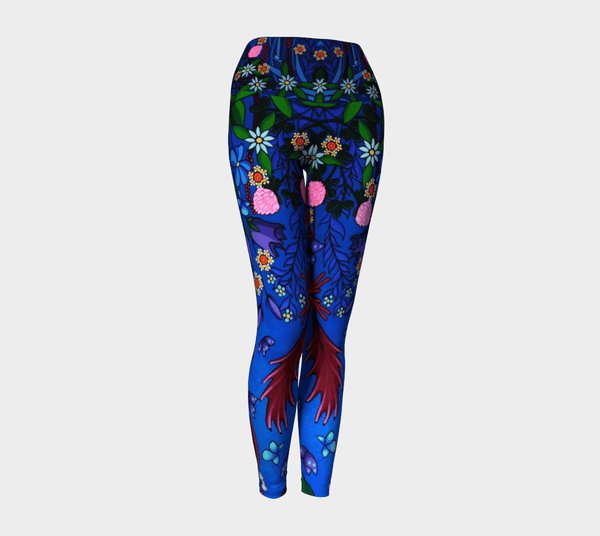 Lovescapes Yoga Leggings (Little Meadow)
