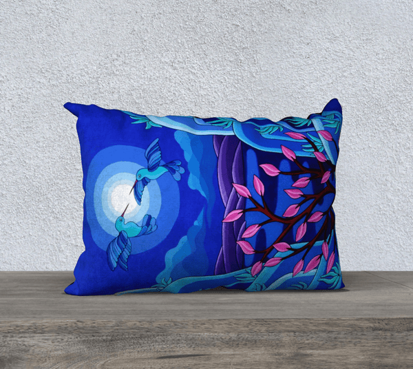 "Lovescapes  Pillow 20""x14"" (Dancing in the Moonlight) - Lovescapes Art"
