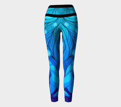 Lovescapes Yoga Leggings (Once Upon a Time)
