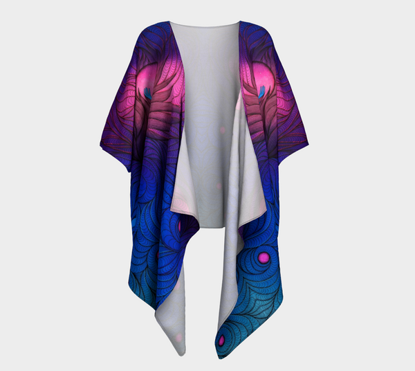 Lovescapes Draped Kimono (Atlastia; Moonlight Sonata) - Lovescapes Art