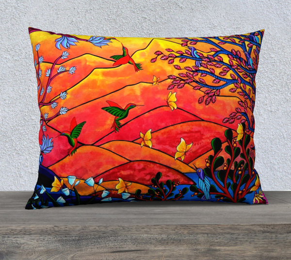 "Lovescapes Pillow 26"" x 20"" (Heartlands) - Lovescapes Art"