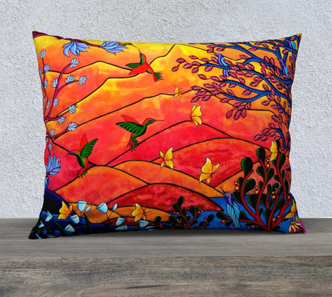 "Lovescapes Pillow 26"" x 20"" (Heartlands)"