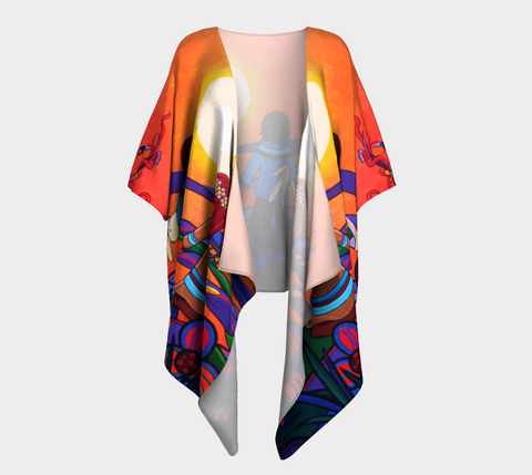 Lovescapes Silk Draped Kimono (The Promise)