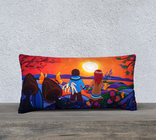 "Lovescapes Pillow 24"" x 12"" (The Promise) - Lovescapes Art"