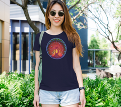 Lovescapes Lady's Tee (Tree of Life 03)