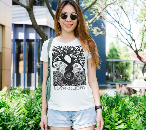 Lovescapes Lady's Tee (Fertility 01)