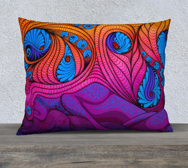 "Lovescapes Pillow 26"" x 20"" (The Goddess in Me)"
