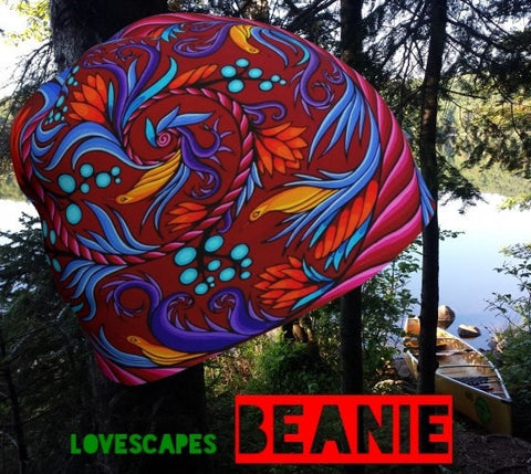 Lovescapes Beanie (Harmonic Convergence 01) - Lovescapes Art