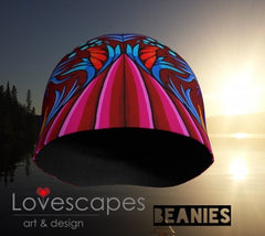 Lovescapes Beanie (Harmonic Convergence 02) - Lovescapes Art