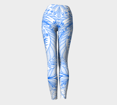 Lovescapes Yoga Leggings (Maytime Melodies 11) - Lovescapes Art
