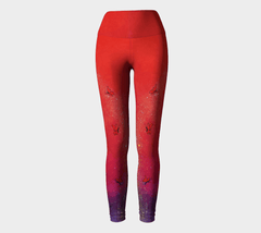 Lovescapes Yoga Leggings (Solarium 10) - Lovescapes Art