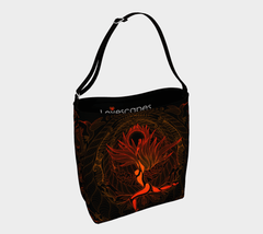 Lovescapes Gym Bag (moonlight Melodies - Fire)