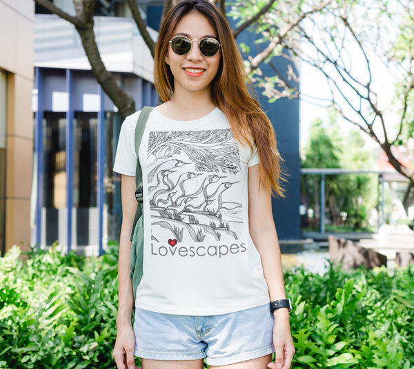 Lovescapes Lady's Tee (God's Country 01)