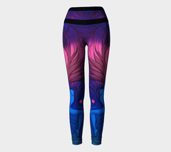 Lovescapes Yoga Leggings (Atlastia; Moonlight Sonata) - Lovescapes Art