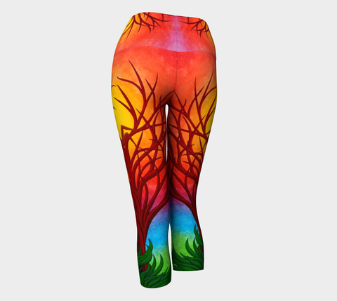 Lovescapes Yoga Capris (Imagine 01) - Lovescapes Art