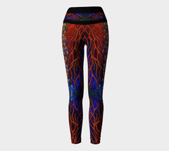 Lovescapes Yoga Leggings (The Gates to Eden 03) - Lovescapes Art