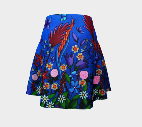 Lovescapes Flare Skirt (Little Meadow)