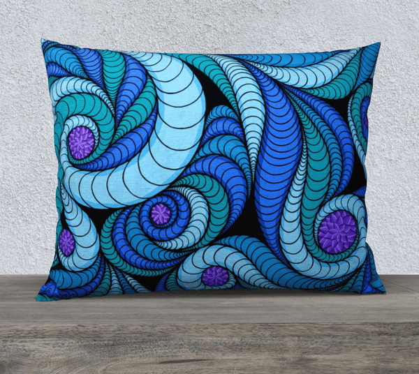 "Lovescapes Pillow 26""x20"" (Higher Vibrations) - Lovescapes Art"