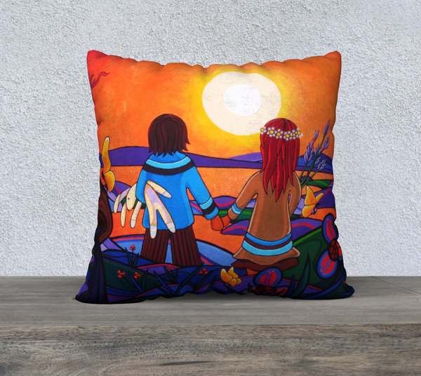 "Lovescapes Pillow 22"" x 22"" (The Promise) - Lovescapes Art"