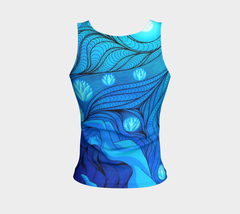 Lovescapes Fitted Tank Top (Once Upon a Time 01) - Lovescapes Art