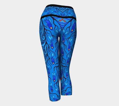 Lovescapes Yoga Capris (Creative Life 10) - Lovescapes Art