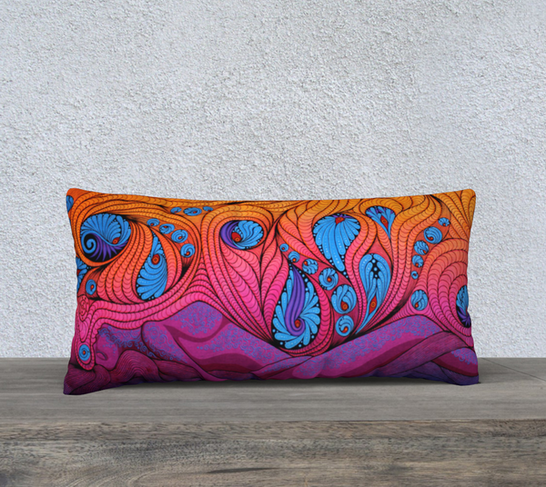 "Lovescapes Pillow 24"" x 12"" (The Goddess in Me)"