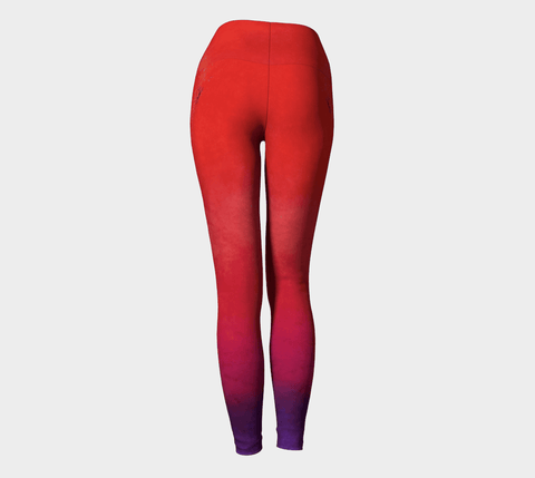 Lovescapes Yoga Leggings (Solarium 10)