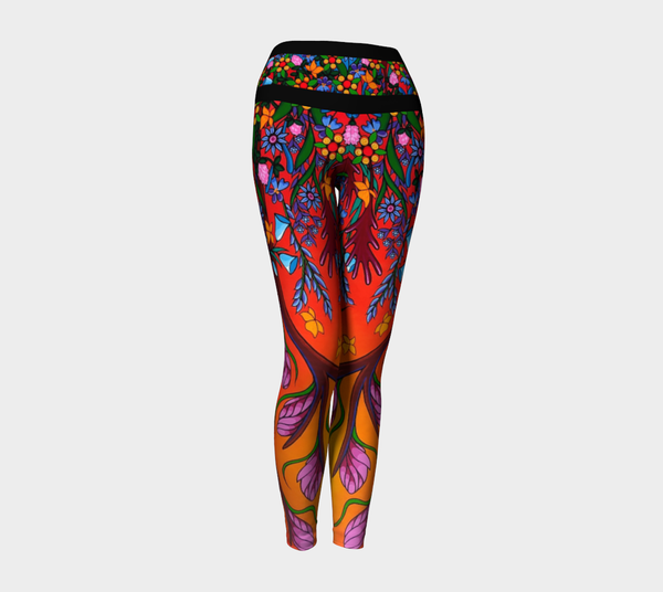 Lovescapes Yoga Leggings (Eternal Summertime) - Lovescapes Art