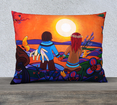 "Lovescapes Pillow 26"" x 20"" (The Promise) - Lovescapes Art"