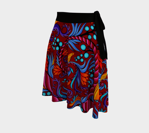 Lovescapes Wrap Skirt (Harmonic convergence)