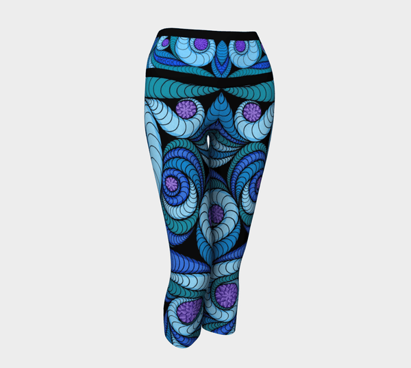 Lovescapes Yoga Capris (Higher Vibrations)