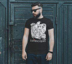 Lovescapes Men's T-Shirt (In Spirit We are Already There! 01)