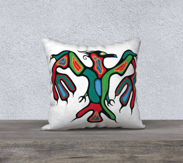 "Lovescapes Pillow 18""x18""(Thunderbird) - Lovescapes Art"