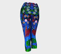 Lovescapes Yoga Capris (Little Meadow) - Lovescapes Art