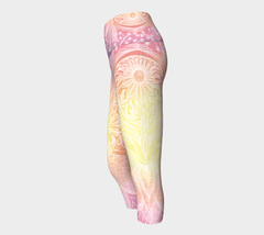 Lovescapes Yoga Capris (Feminine Flow 01) - Lovescapes Art