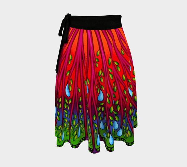 Lovescapes Wrap Skirt (Tree of Life 01)