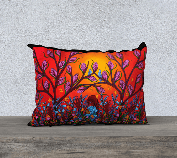 "Lovescapes Pillow 20""x 14"" (Eternal Summertime) - Lovescapes Art"