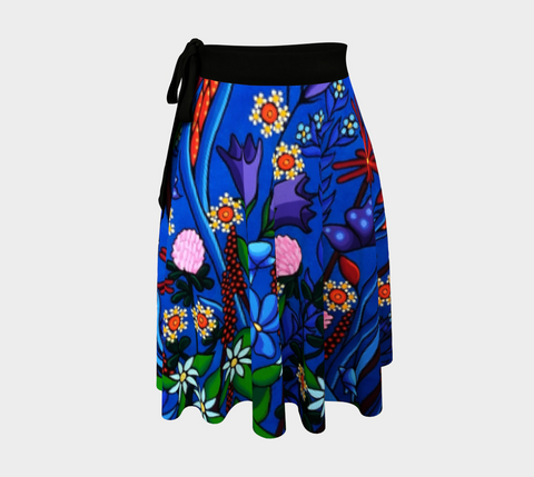 Wrap Skirt (Little Meadow) - Lovescapes Art