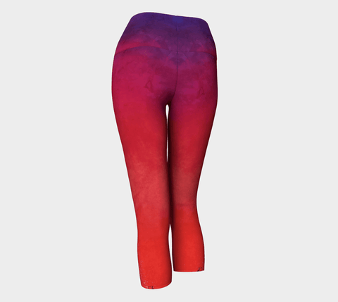 Lovescapes Yoga Capris (Solarium 10)