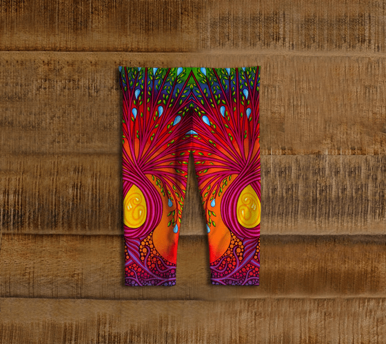 Lovescapes Leggings for Little Ones (Tree of Life)