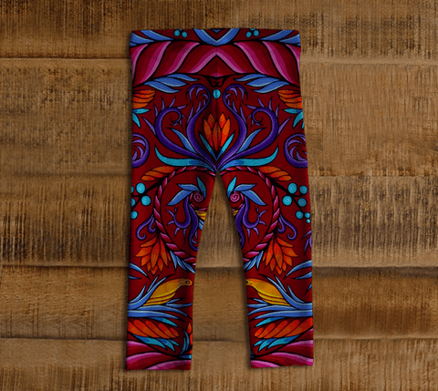 Lovescapes Leggings for Little Ones (Harmonic Convergence) - Lovescapes Art