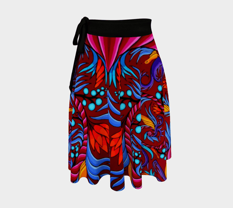 Lovescapes Wrap Skirt (Harmonic convergence) - Lovescapes Art