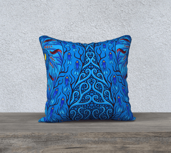 "18""x18"" Pillow Case (Creative Life 10) - Lovescapes Art"