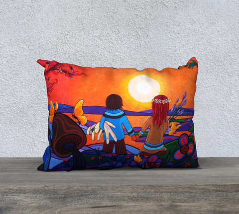 "Lovescapes Pillow 20"" x 14"" (The Promise) - Lovescapes Art"