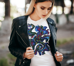 Lovescapes Lady's Tee (Ancestral Destiny)