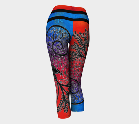 Lovescapes Yoga Capris (Balance 01)