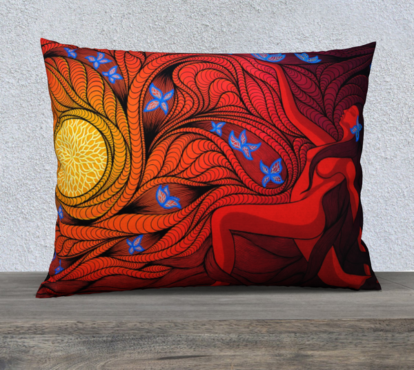 "Lovescapes Pillow 26"" x 20"" (Regeneration)"
